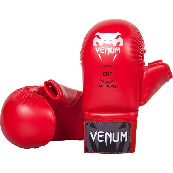 Venum - Rukavice za karate sa Palcem Crvene L
