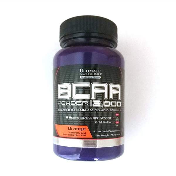Ultimate Nutrition BCAA  Powder, Pomorandža 7,6 g