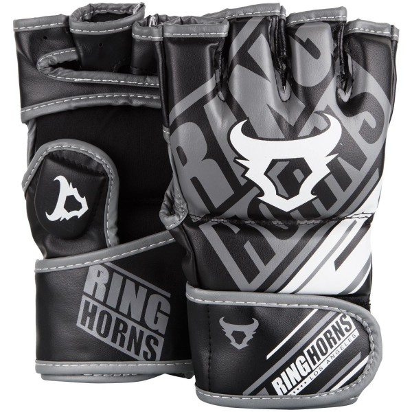 RingHorns Rukavice MMA Nitro Black M