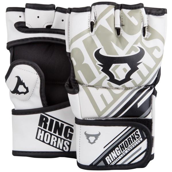 RingHorns Rukavice MMA Nitro Bele S
