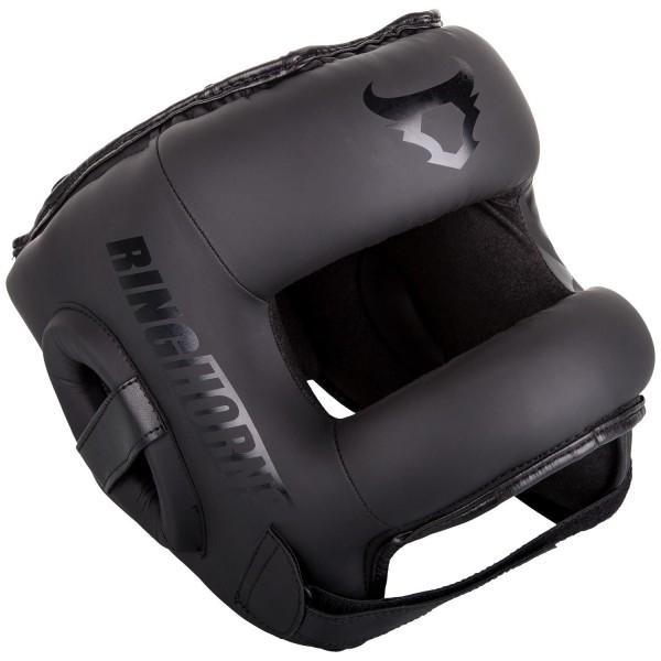 Zaštitna Kaciga Ring Horns Nitro Crno/Crna