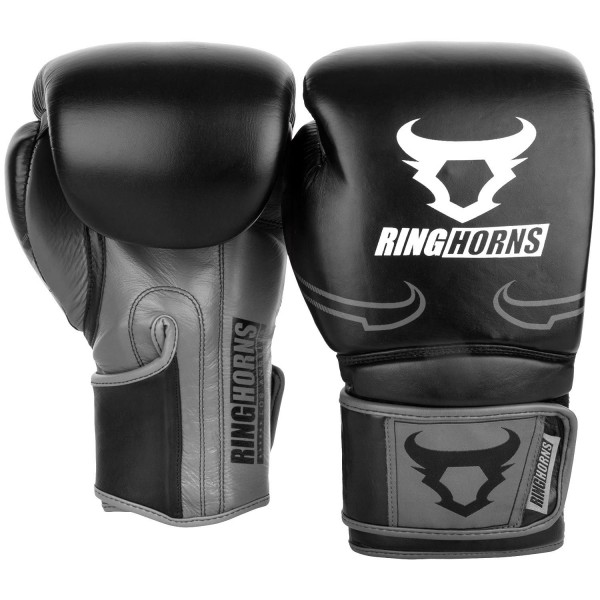 Rukavice za Boks Ring Horns Destroyer koža B/G 12OZ