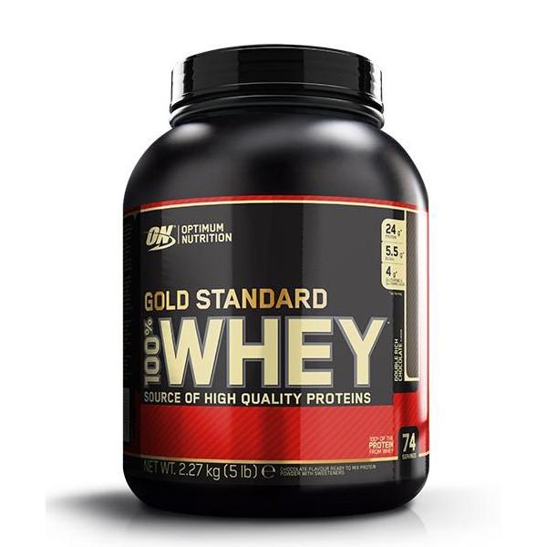 Whey Gold Standard Jagoda 2,27 kg