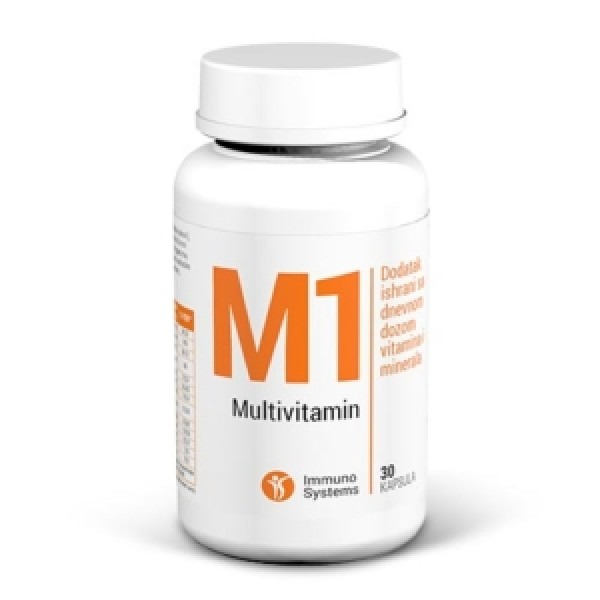 Immuno Systems Multivitamin M1 30 kaps.