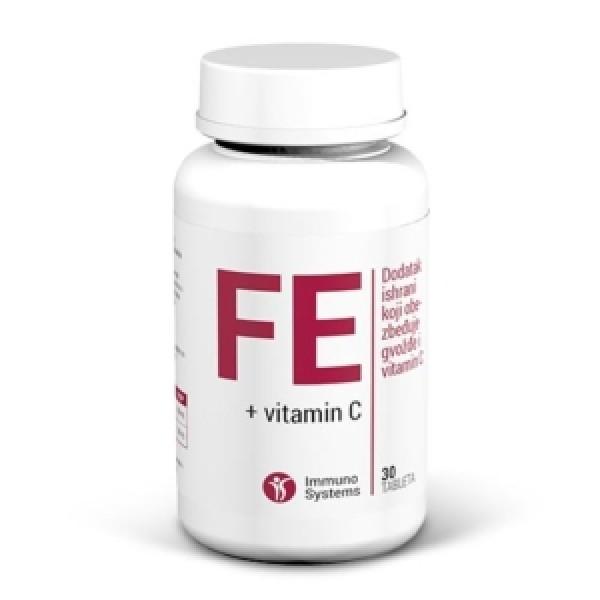 Immuno Systems Gvožđe + Vitamin C 30 tbl