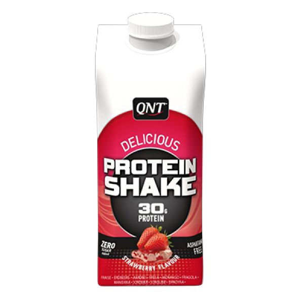 QNT Delicious Whey Shake, Jagoda, 330, ml