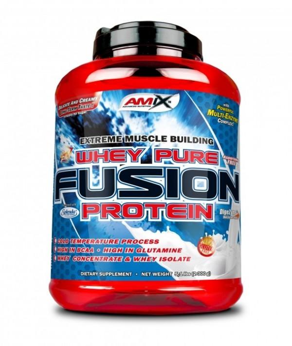 AMIX Whey Pro Fusion 2,3kg Čokolada
