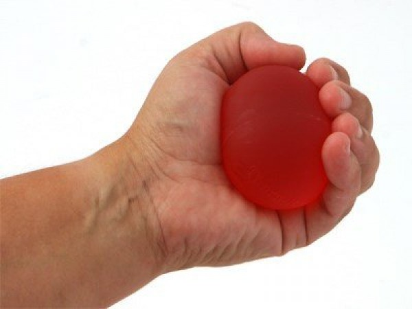 Silikonska Loptica, XL Crvena