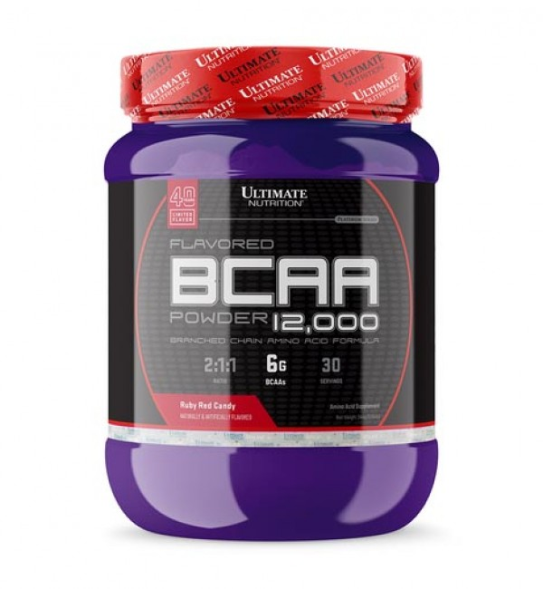 Ultimate Nutrition BCAA  Powder, Ruby Red 457 g