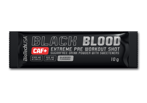Black Blood + Caffeine 10 g Grožđe