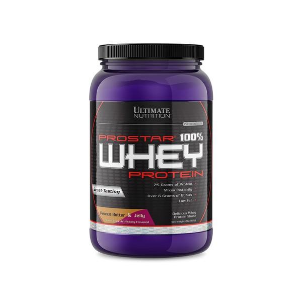 Ultimate Nutrition - 100% Whey Prostar Kikiriki Puter-Džem 907 g