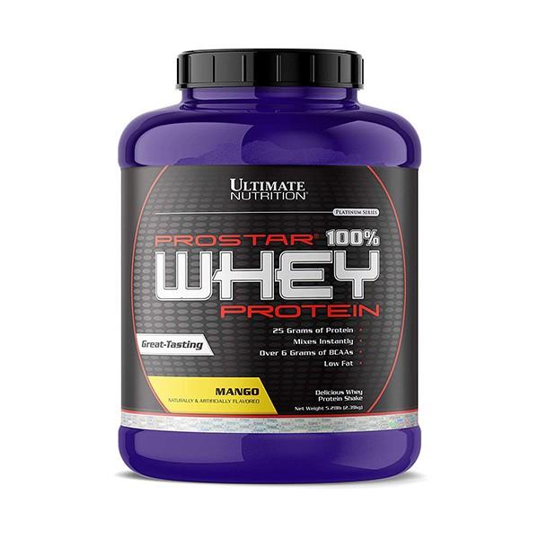 Ultimate Nutrition 100% Whey Prostar, Mango, 2,39 kg