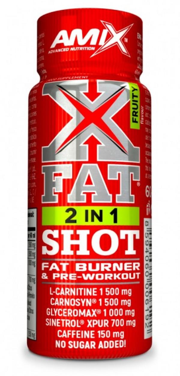 X-Fat  2in1 Shoot 60 ml Voćni
