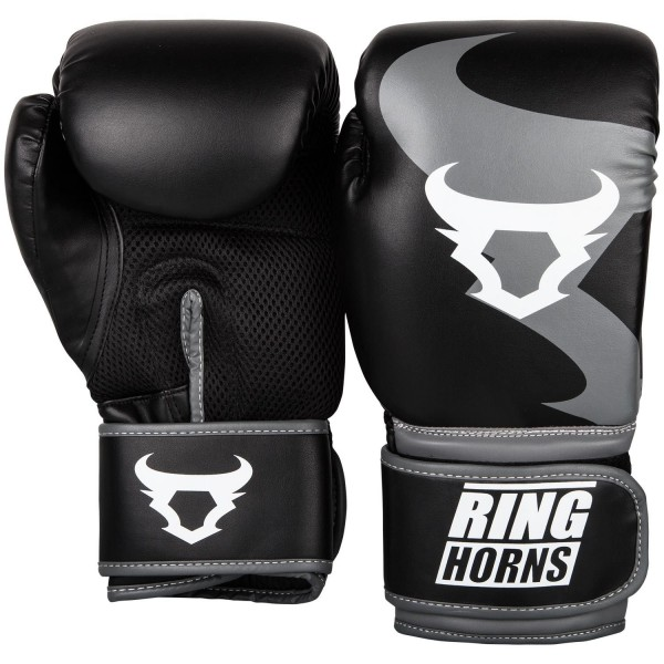 Rukavice za Boks Ring Horns Charger Crne 16OZ