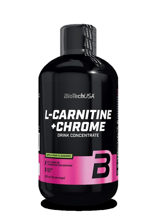 L-Carnitine+Chrome 0,5 l Pomorandža