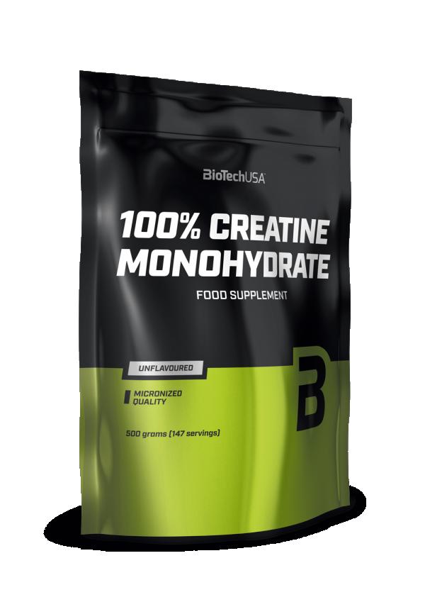 100% Creatine Monohydrate Alu 500 g