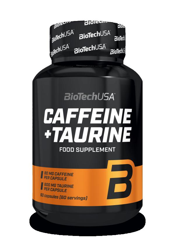 Caffeine + Taurine, 60 kap
