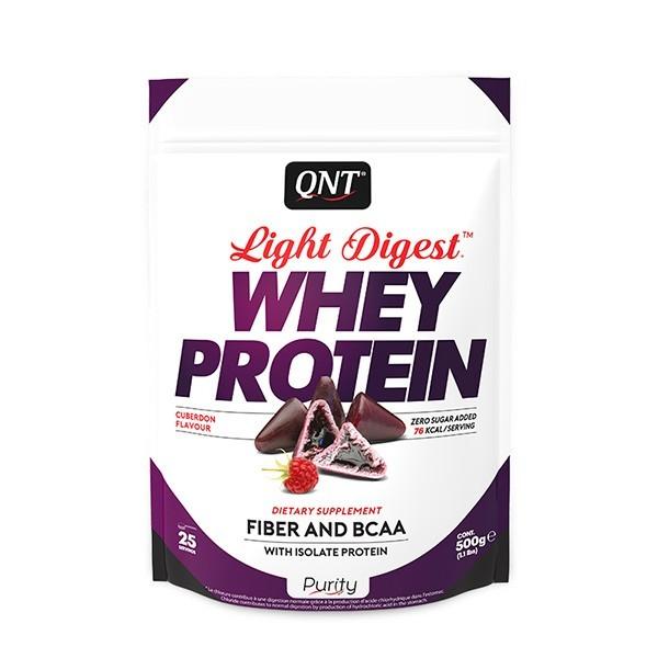 Light Digest Whey, Malina, 500 g