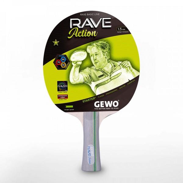 Reket za stoni tenis Gewo Rave Action