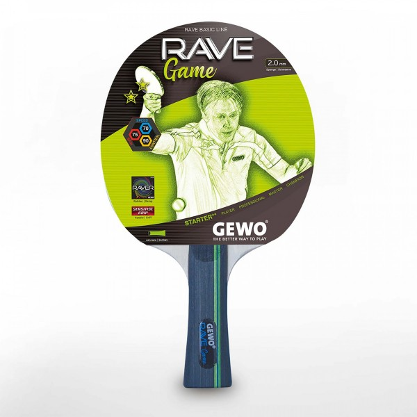 Reket za Stoni Tenis Gewo Rave Game