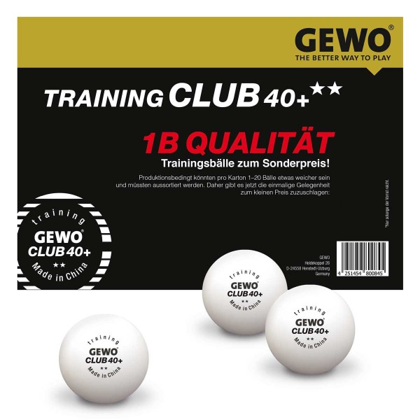 Trening 1b Loptica Gewo Club 40+ **