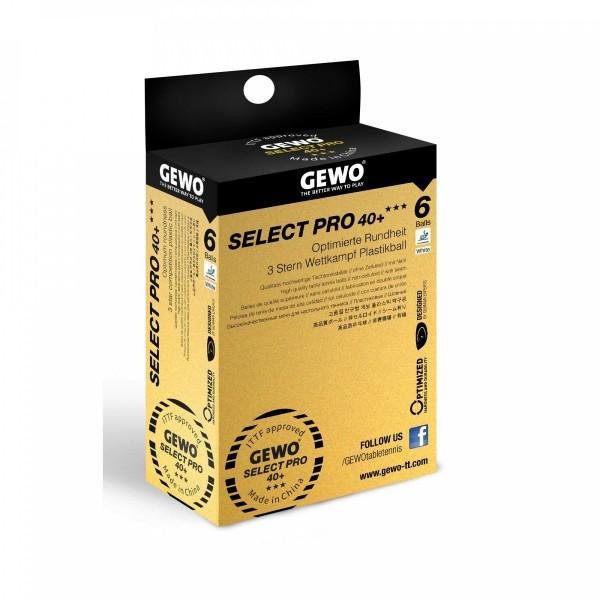 Takmičarske Loptice Gewo Select Pro 40+ *** 6/1
