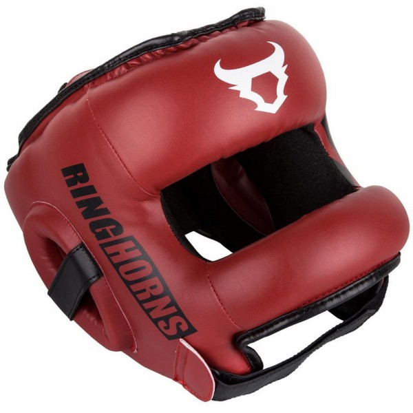 Zaštitna Kaciga Ring Horns Nitro Crvena