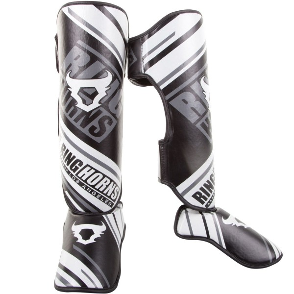 RingHorns Štitnici za Noge Nitro Insteps Crni XL