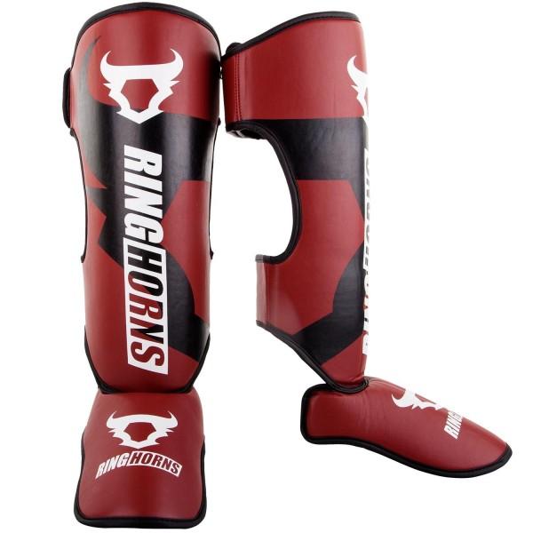 RingHorns Štitnici za Noge Charger Insteps Crveni XL