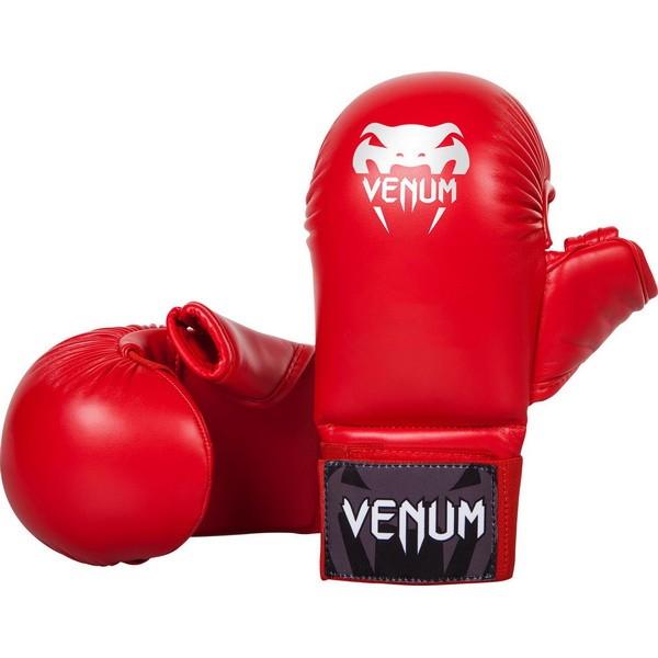 Venum-Rukavice za karate Sa Palcem Crvene XL