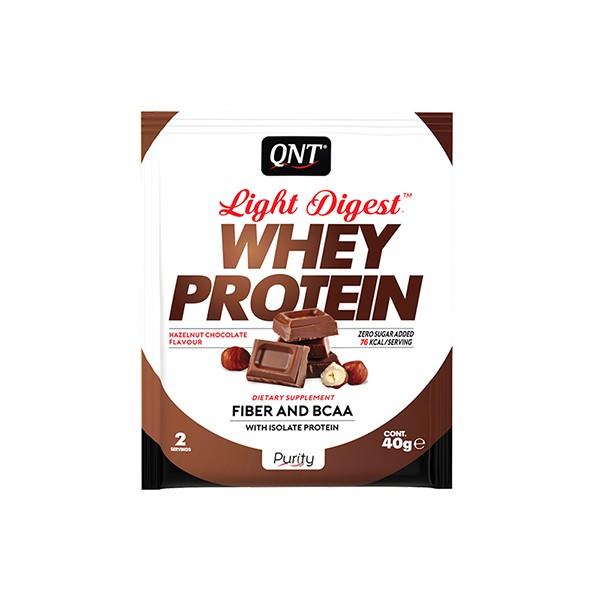 QNT Light Digest Whey, Čokolada, 40 g