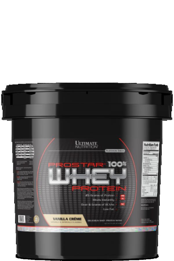 Ultimate Nutrition 100% Whey Prostar Vanila, 4,54 kg