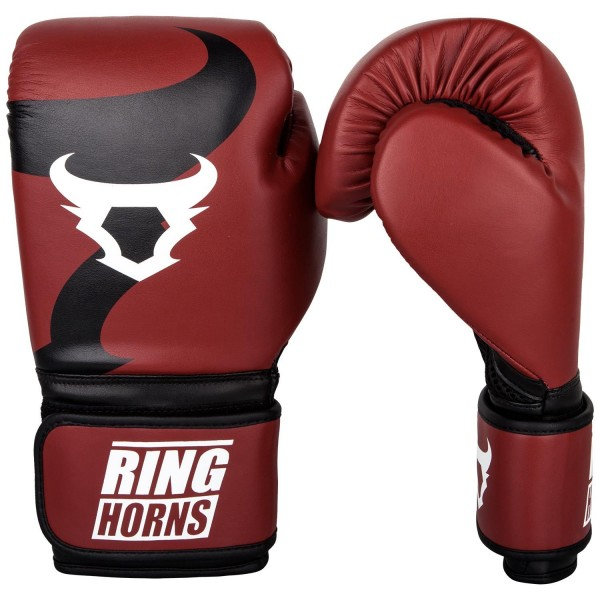 Rukavice za Boks Ring Horns Charger Crvene 14OZ