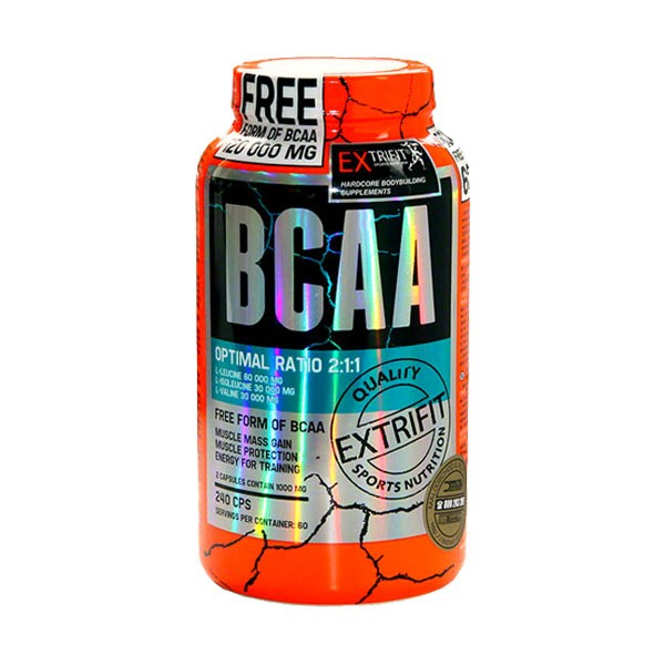 BCAA 2:1:1, Pure 240 cap