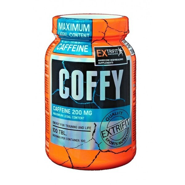 Coffy Stimulant, 200 mg, 100 tab