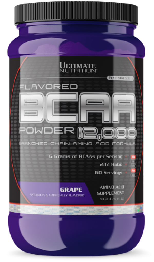 Ultimate Nutrition BCAA  Powder, Grožđe, 457 g