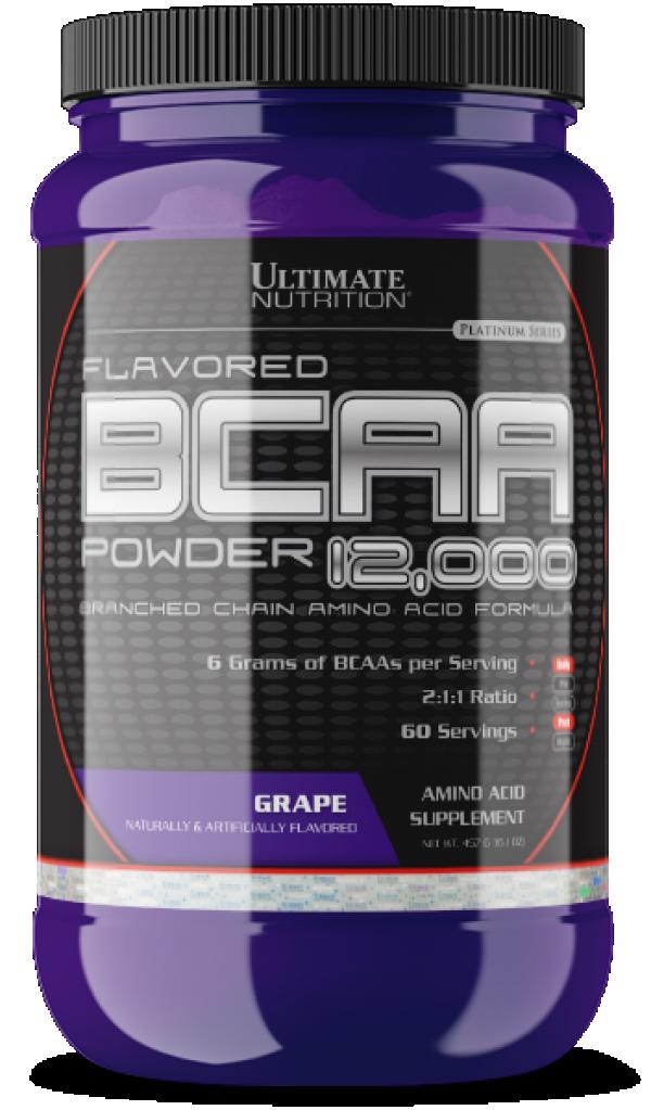 BCAA Powder, Grožđe, 457 g