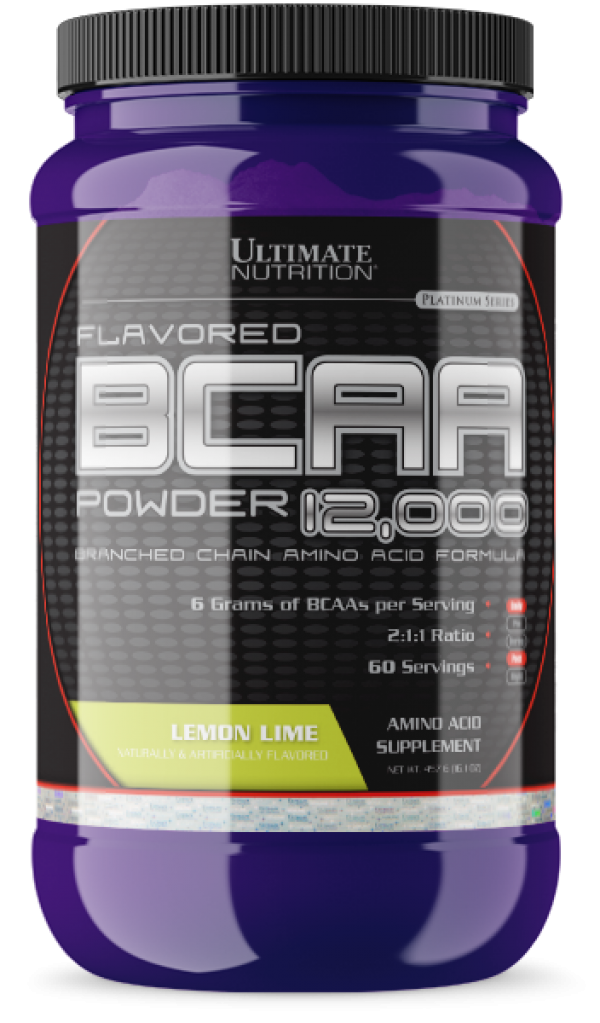 Ultimate Nutrition BCAA  Powder, Limun-limeta, 457 g