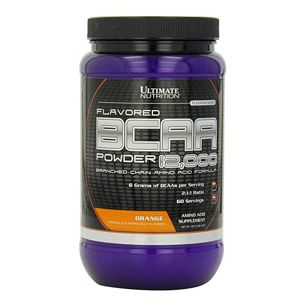 Ultimate Nutrition BCAA Powder, Pomorandža, 457 g