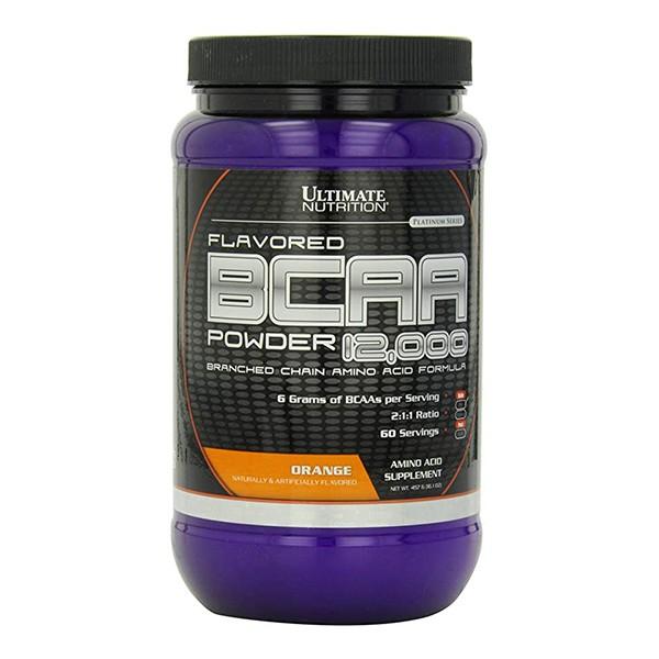 BCAA Powder, Pomorandža, 457 g