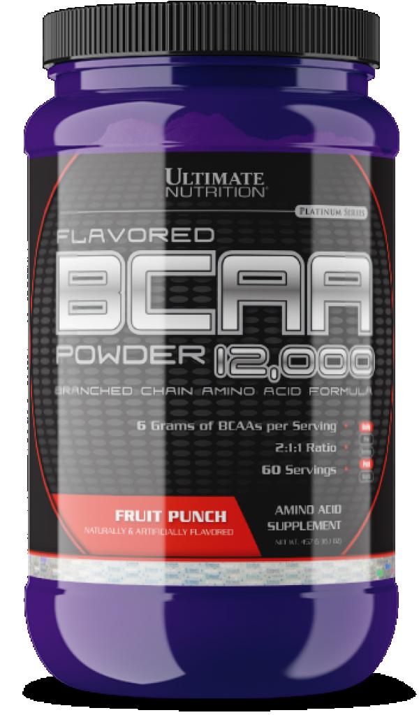 BCAA Powder, Voćni punč, 457 g
