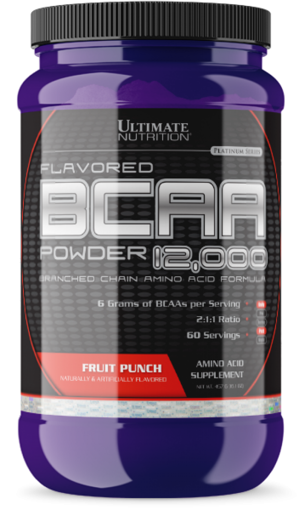 Ultimate Nutrition BCAA  Powder, Voćni punč, 457 g