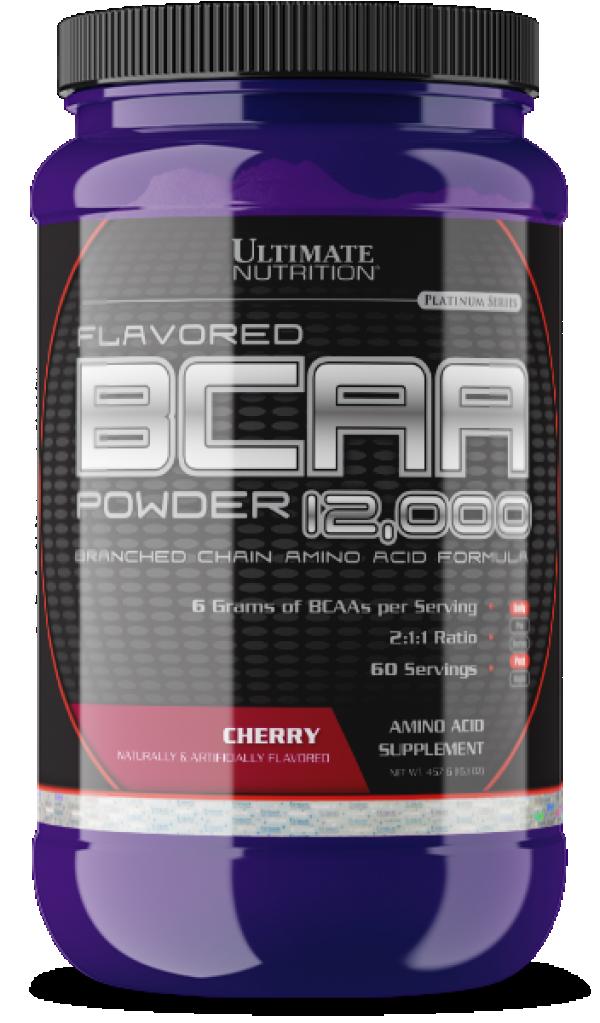 BCAA Powder, Višnja, 457 g