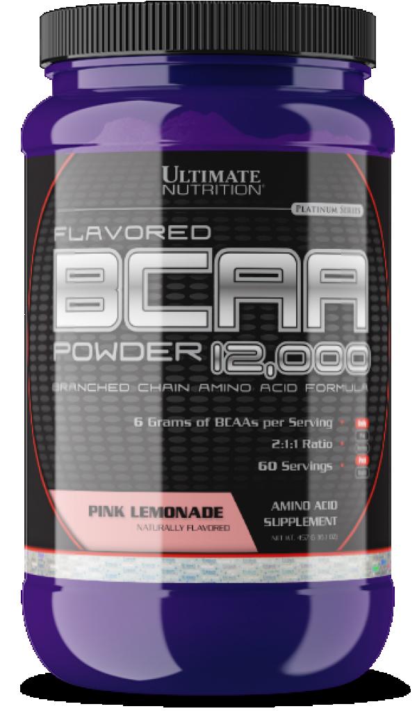 Ultimate Nutrition BCAA  Powder, Pink-limunada, 457 g
