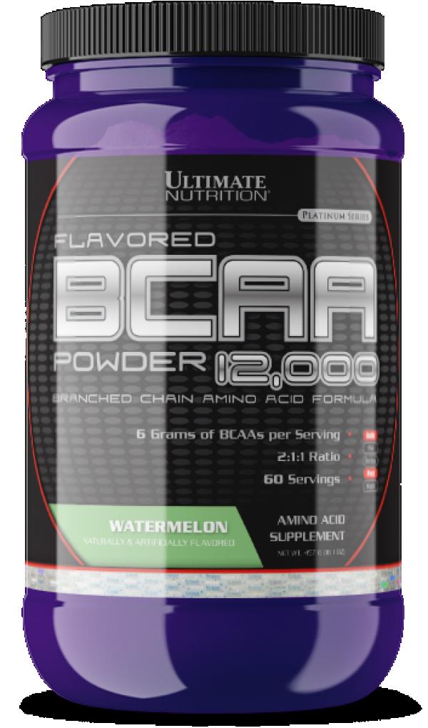 BCAA Powder, Lubenica, 457 g