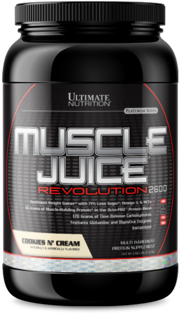 Ultimate Nutrition Muscle Juice Revolution 2600, Cookies & cream, 2,1 Kg