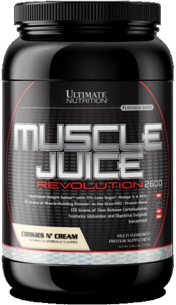 Muscle Juice Revolution 2600, Cookies & cream, 2,1 Kg