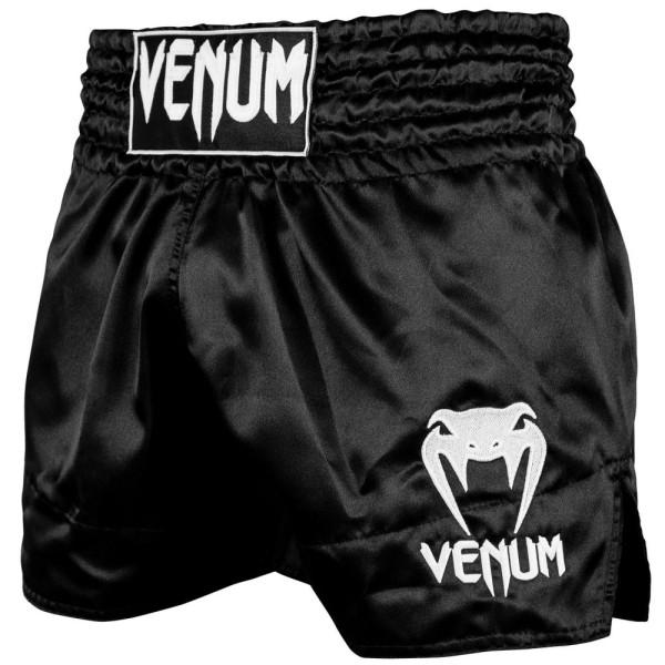 Šorts Venum Muay Thai Classic B/W L