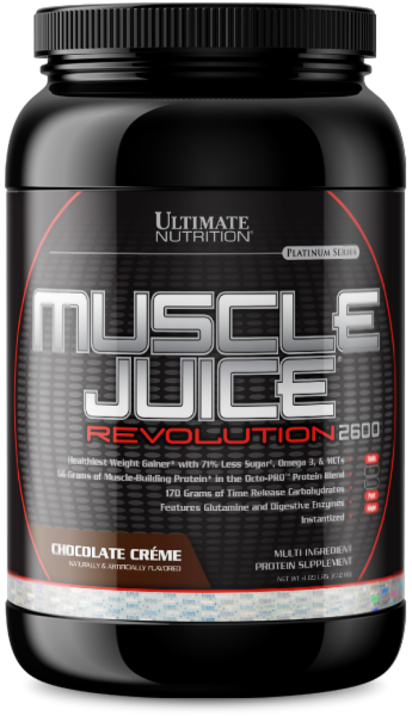 Ultimate Nutrition Muscle Juice Revolution 2600, Čokolada, 2,1 kg
