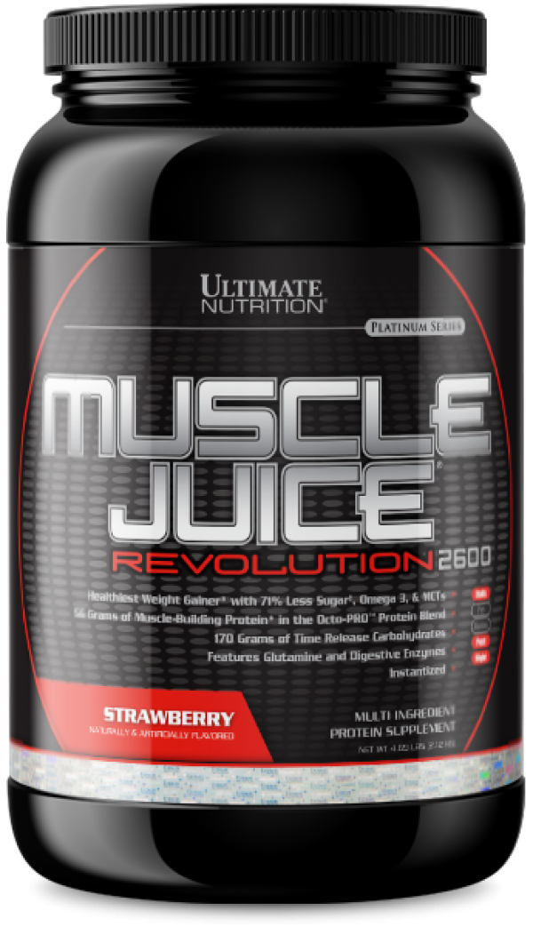 Ultimate Nutrition Muscle Juice Revolution 2600, Jagoda, 2,1 kg